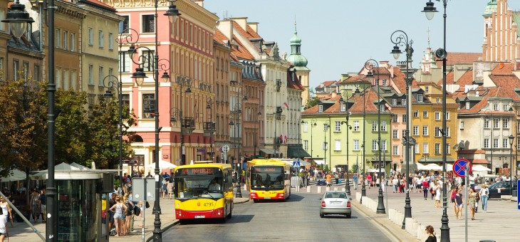 Czym podróżować po Warszawie?